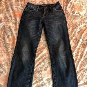 Lucky brand Hayden cropped jean